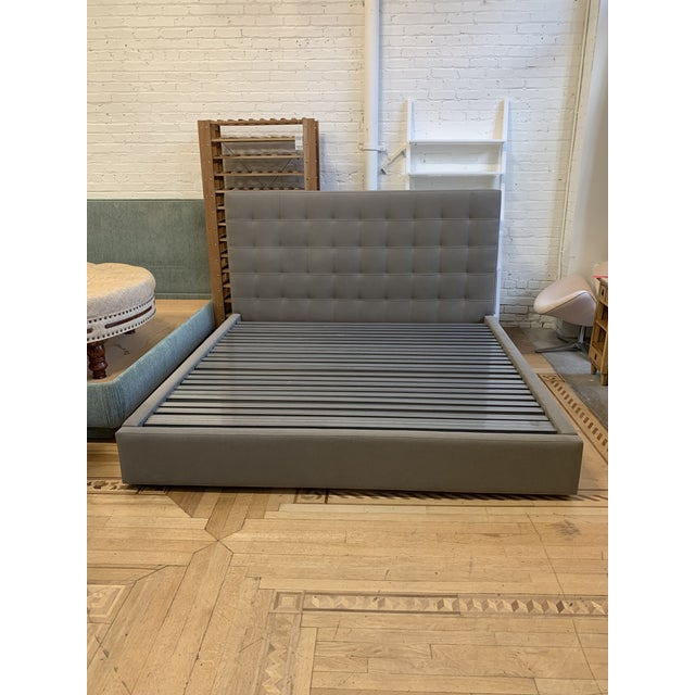 Eastern King Room & Board Avery Bed + Storage Drawer For Sale - Image 9 of 9