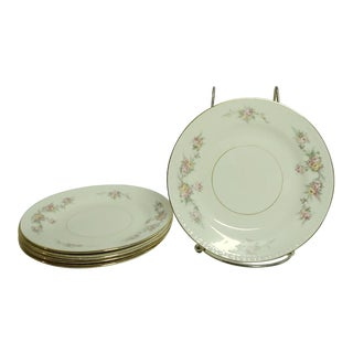 "Vintage Mid 20th Century Homer Laughlin ""Georgian"" Cake/Dessert Plates, Usa - Set of 5 For Sale"
