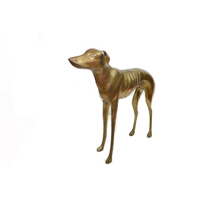 Brass Whippet or Greyhound - Image 5 of 6