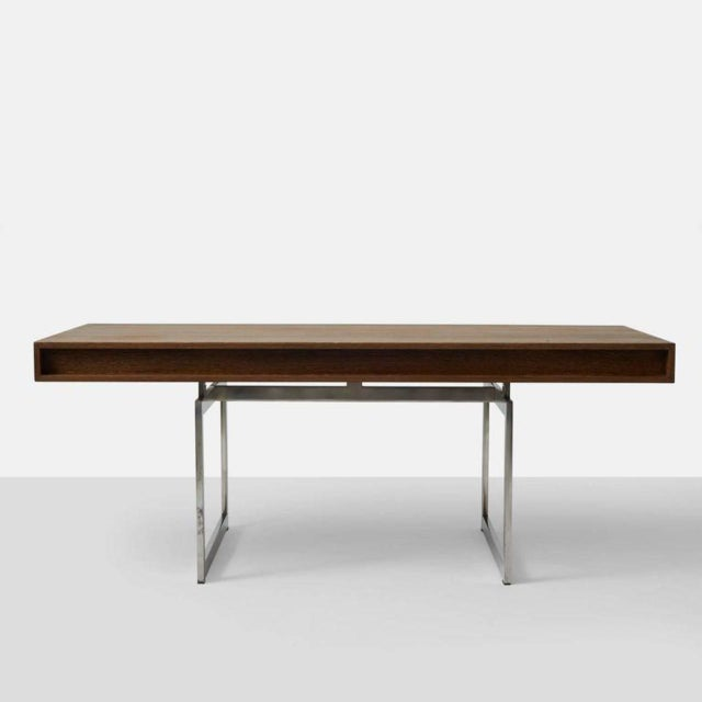 Wenge Bodil Kjaer Desk by E Pederseon and Sons For Sale In San Francisco - Image 6 of 6