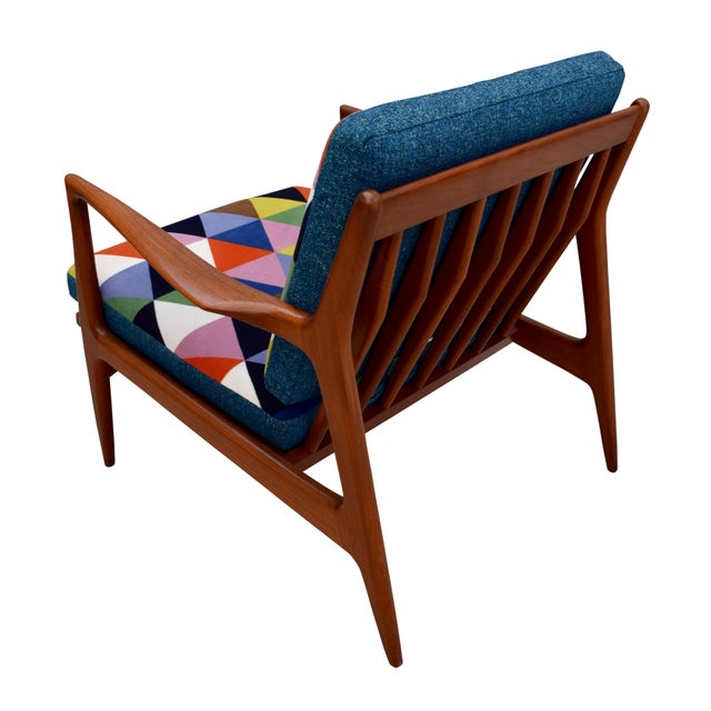 Vintage Danish Mid-Century Teak Lounge Chair - Image 4 of 10
