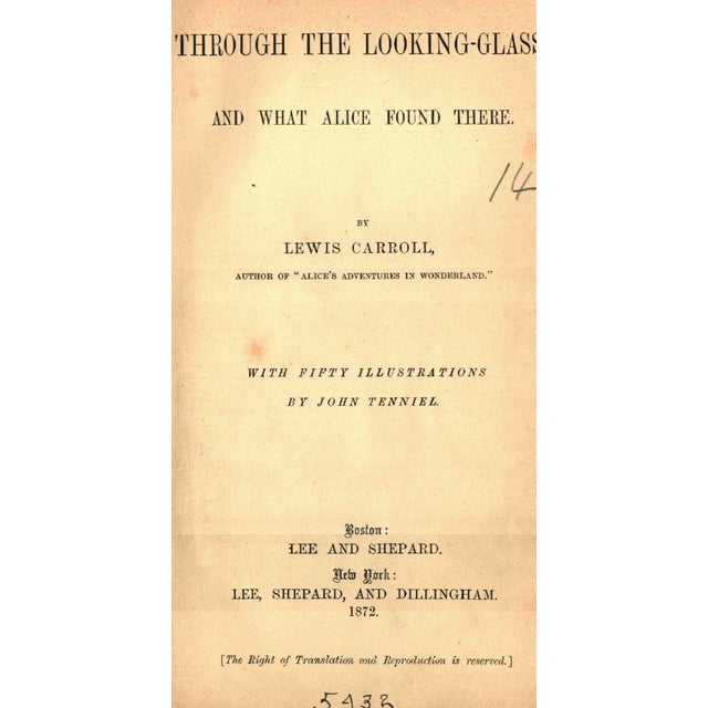 Through The Looking-Glass, First Edition - Image 2 of 4
