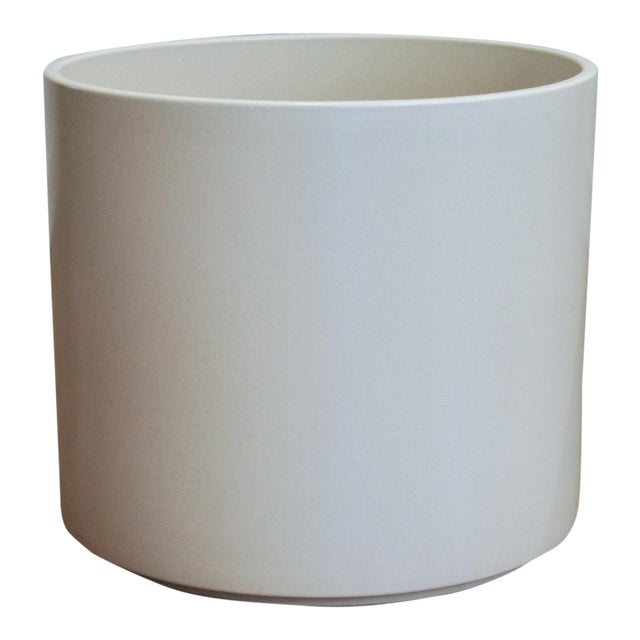 Tree Size Gainey Architectural Pottery Planter For Sale