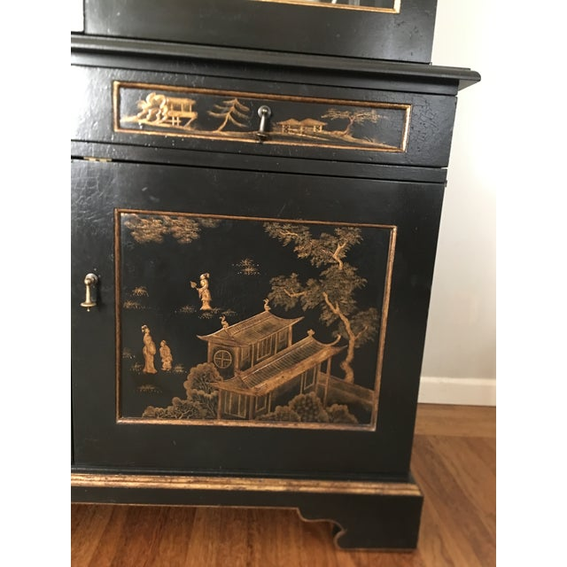 John Hall Designs Chinese Chippendale Cupboard For Sale In San Francisco - Image 6 of 11
