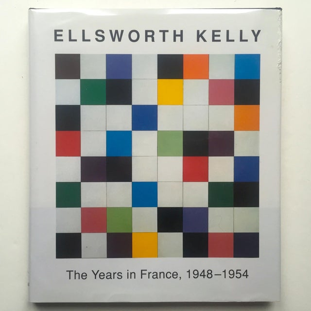 """""""Ellsworth Kelly the Years in France 1948 - 1954 """" 1st Edition Hardcover Exhibition Art Book For Sale - Image 11 of 11"""