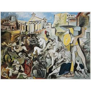 "1985 Pablo Picasso, ""The Abduction of Sabines"" Original Parisian Photogravure For Sale"