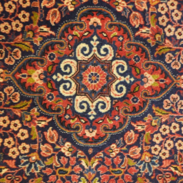 "Traditional Persian Sarouk Rug - 3'2"" x 2'3"" For Sale - Image 3 of 6"