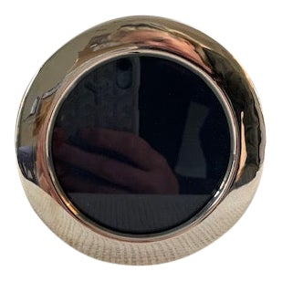 Carrs of Sheffield Hallmarked Sterling Round Frame For Sale