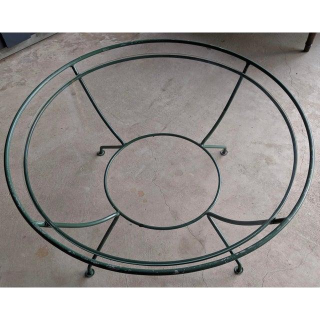 1960s Midcentury Modern Maurizio Tempestini for Salterini Patio Table For Sale - Image 5 of 9