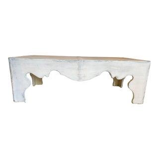 Hooker Furniture Traditional Belgian Cast Cocktail Table For Sale