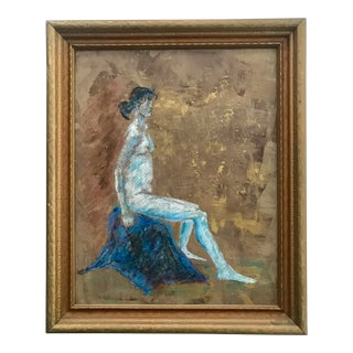 Vintage Painting Woman 2