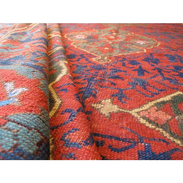 17th Century Anatolian Ushak Carpet For Sale In San Francisco - Image 6 of 6