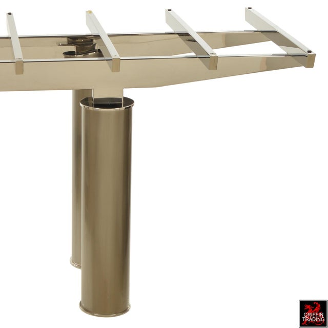 Brueton Brueton Dining Table by Tamarkin-Techler Group For Sale - Image 4 of 10