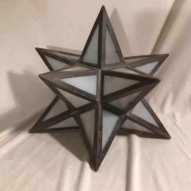 Geometric Metal Light Shade - Image 5 of 5