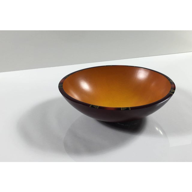 Mid-Century Modern Mid-Century Modern Peggy Potter Wooden Bowl For Sale - Image 3 of 11