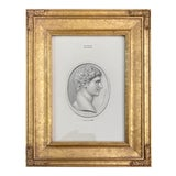 Image of Vintage Neoclassical Print of Intaglio of Anthony For Sale