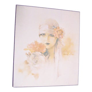 Sara Moon Plaque Wall Hanging Claudia For Sale