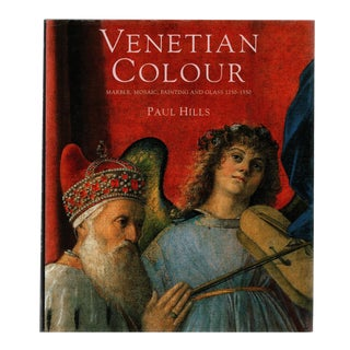 """1999 """"Venetian Colour: Marble, Mosaic, Painting and Glass 1250-1550"""" Coffee Table Book For Sale"""