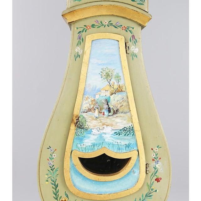 Antique Swedish Mora Clock - Image 3 of 6