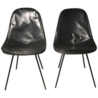 Pair of Fine Early Dkx Charles Eames Chairs for Herman Miller For Sale