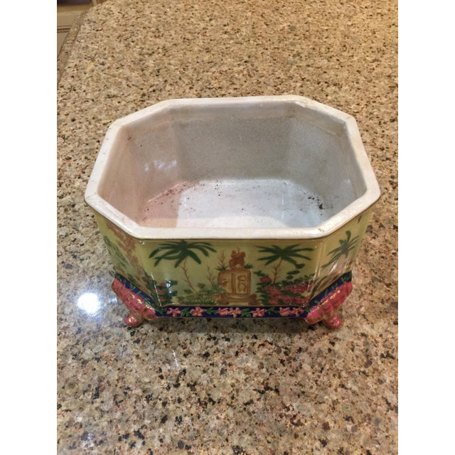 Chinoiserie Lidded Box Uw 1897 For Sale - Image 10 of 13