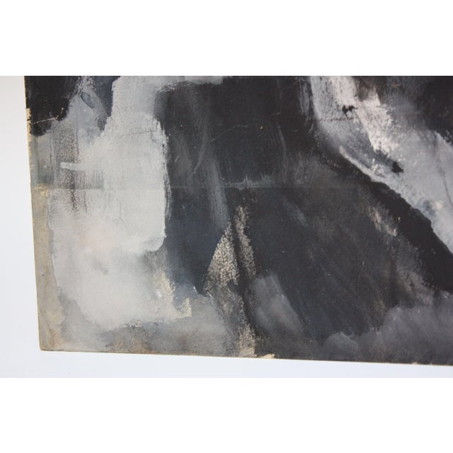 Drawing/Sketching Materials Abstract 'Aspen' Gouache on Board by Elizabeth Nachman Erlanger For Sale - Image 7 of 13