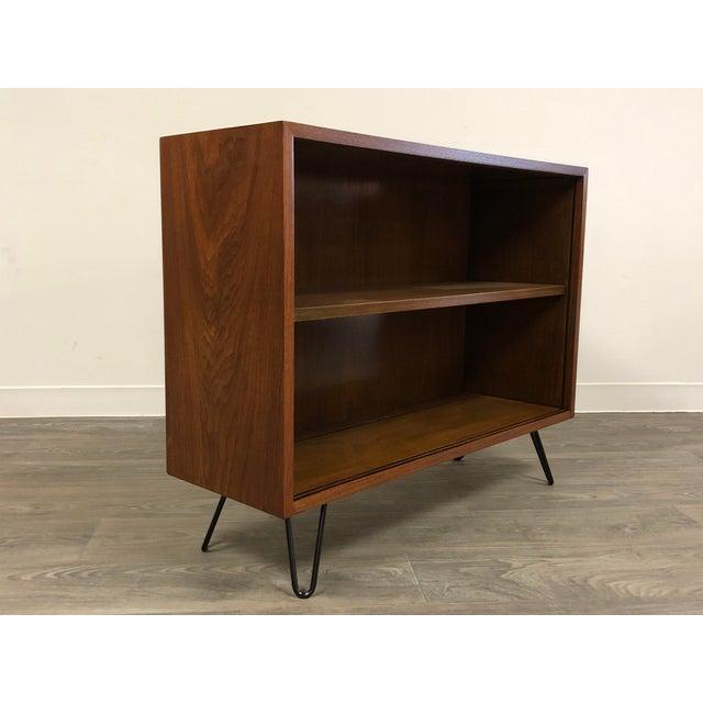 Mid-Century Modern Walnut Mid Century Modern Bookcase For Sale - Image 3 of 8