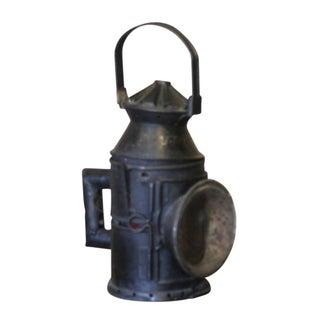 Antique Train Glass Lantern Preview