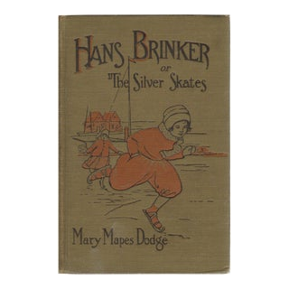"""1943 """"Hans Brinker or the Silver Skates"""" Collectible Book For Sale"""