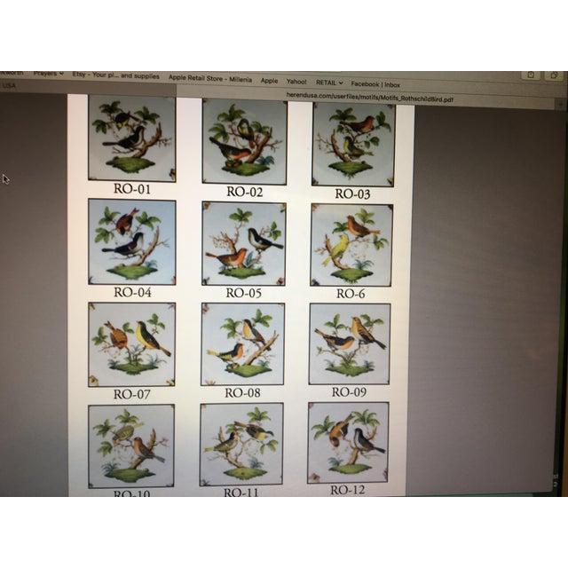 "Herend ""Rothschild Bird"" China Dining Set - Image 4 of 4"