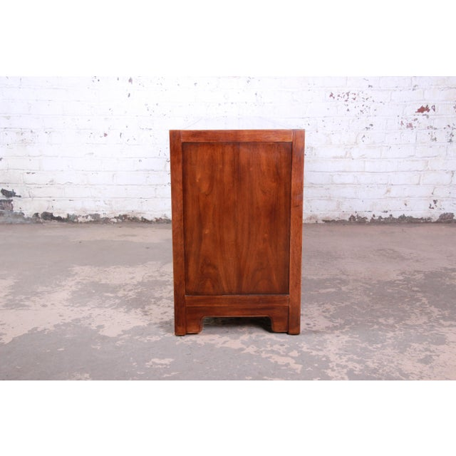 Drexel Heritage Hollywood Regency Chinoiserie Long Dresser or Credenza For Sale - Image 11 of 13