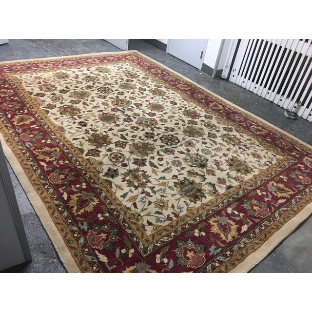 Home Traditions & Textiles Persian Style Wool Rug- 9′4″ × 13′4″ - Image 4 of 7