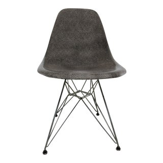 Vintage Mid-Century Modern Gray Herman Miller Eames DSR Chair For Sale