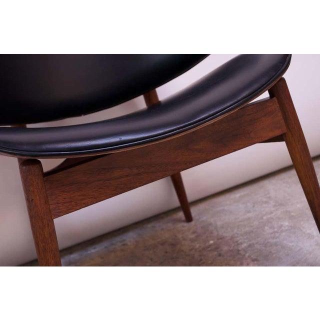 Seymour J. Wiener Walnut Lounge Chair for Kodawood For Sale - Image 11 of 13