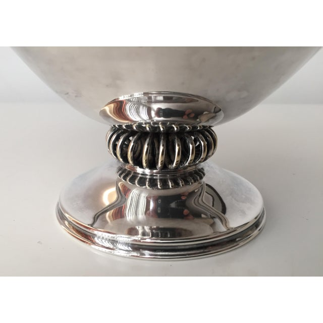 Danish Modern Silver Bowl-E.Dragsted - Image 3 of 7