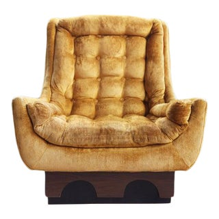 """Mid Century Modern Adrian Pearsall """"Strictly Spanish"""" for Craft Associates Lounge Chair For Sale"""
