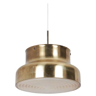 Pendant Ceiling Lamp Bumling in Brass by Anders Pehrson for Ateljé Lyktan For Sale