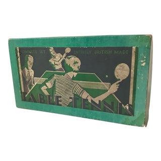 Vintage English Table Tennis Game Set