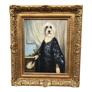 Countess Von Wirehare -A Dog Portrait For Sale