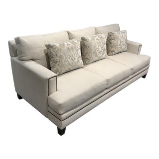 Transitional Scalamandre Upholstered Sofa