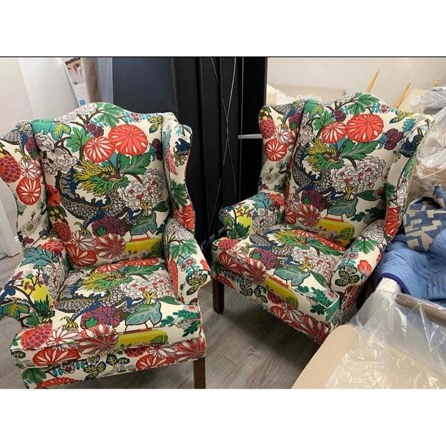 Modern Mai Dragon Club Chair For Sale - Image 3 of 11
