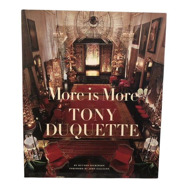 """More Is More - Tony Duquette"" Signed by Author For Sale"
