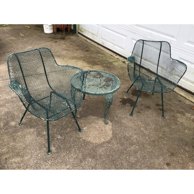 Sculptura Chair Table Russell Woodard Patio Set 3 Pieces Last Call