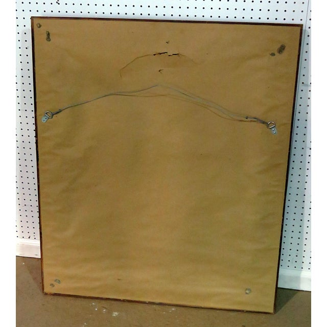 Mid 20th Century Regency Style Wall Mirror For Sale - Image 5 of 6