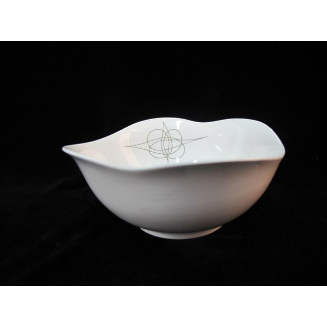 Mid-Century Modern Eva Zeisel Hall Mid Century Modern Atomic Fantasy Coupe Cereal Bowls - Set of 6 For Sale - Image 3 of 7