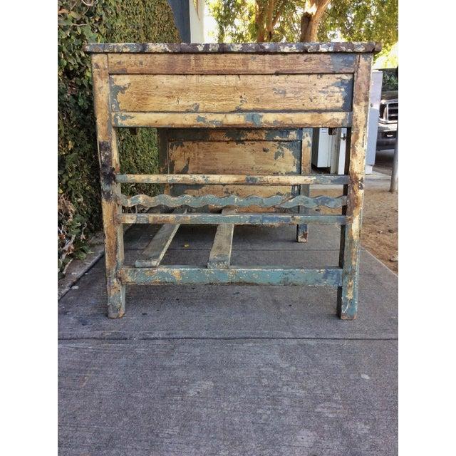 Vintage Shabby Chic Desk For Sale - Image 4 of 10