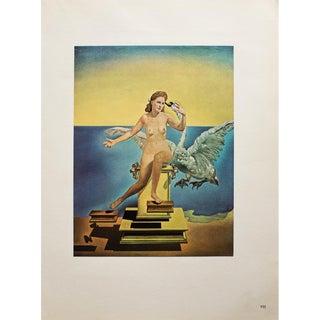 "1957 Salvador Dali ""Leda Atomica"" Original Period Parisian Photogravure For Sale"
