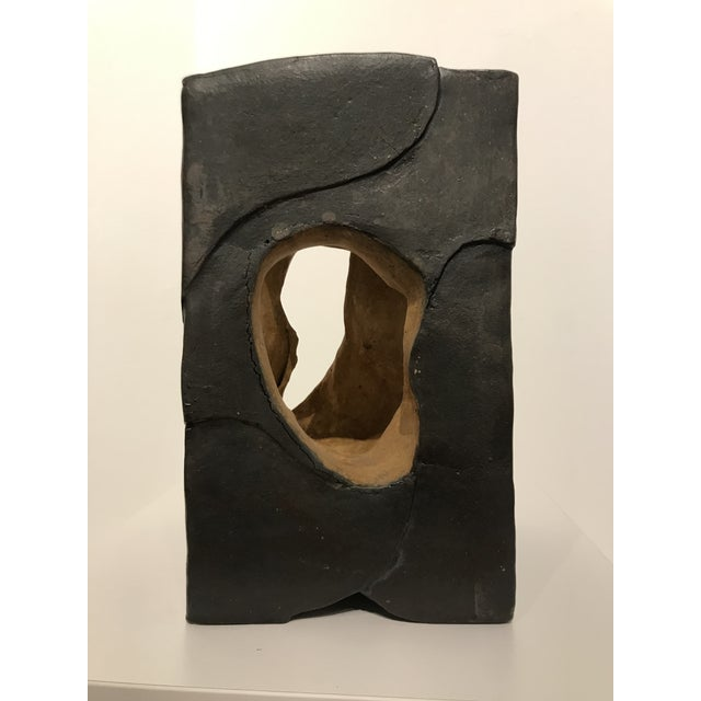 """""""Glow"""" Contemporary Ceramic Sculpture by Corinne Peterson For Sale - Image 9 of 9"""