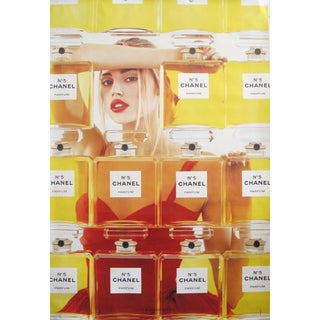 1999 Original Chanel No. 5 Poster, Perfume Bottles - Double Sided For Sale
