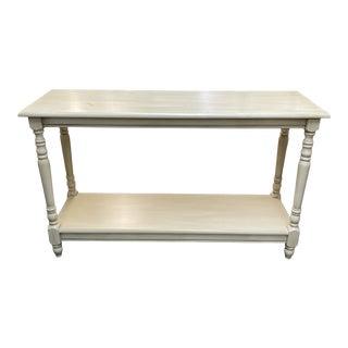 Ballard Designs White Console Table For Sale